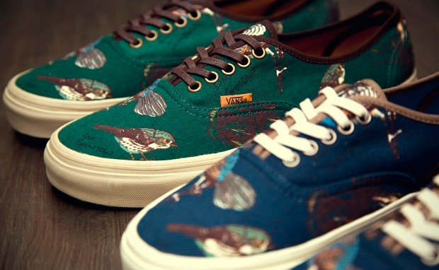 "Vans CA Authentic ""Birds"" Pack"