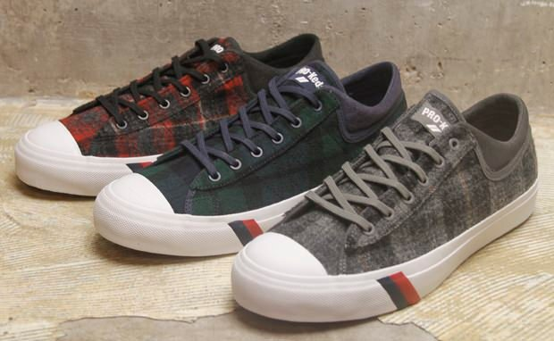Woolrich x PRO-Keds Royal Master Collection