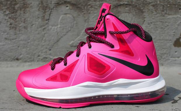 Nike LeBron X GS Pink Black