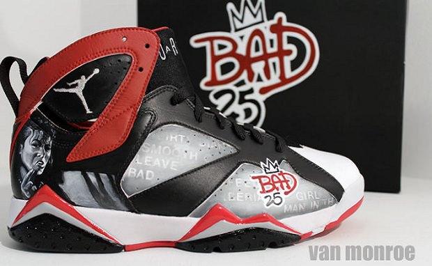 """Air Jordan 7 """"Bad 25"""" for Spike Lee"""