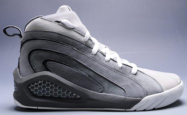 Reebok Shaqnosis 2012 Grey Suede Unreleased Sample