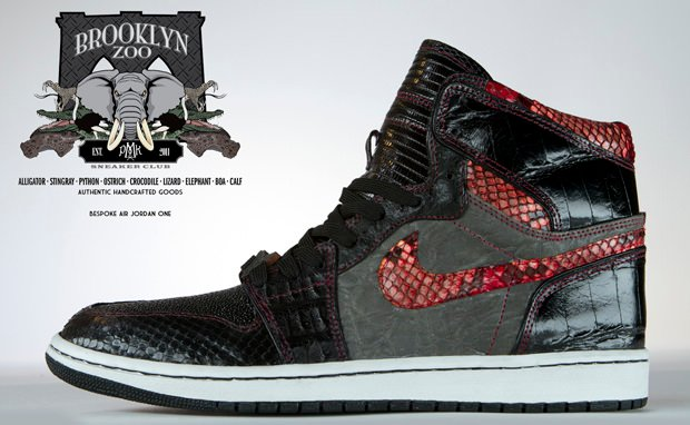 Air Jordan 1 Brooklyn Zoo Custom