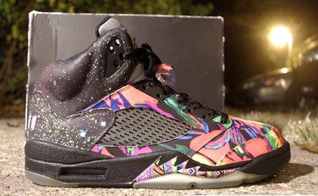 Air Jordan 5 Fresh Prince Custom