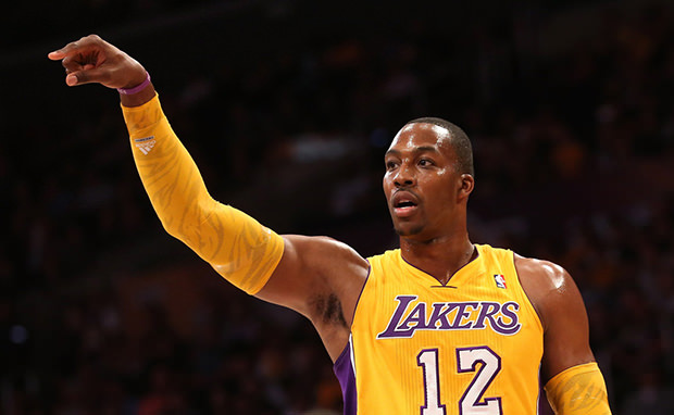 Dwight Howard Dons New adidas Signature in Lakers Debut