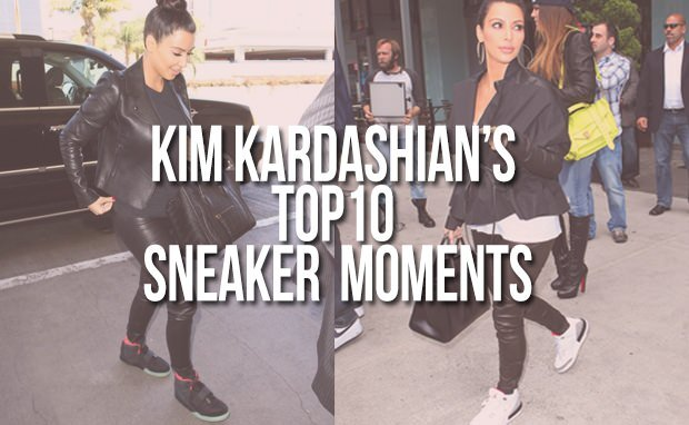 Kim Karsashian's Top 10 Sneaker Moments