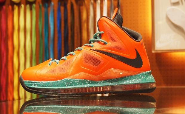 Nike LeBron X iD Sample