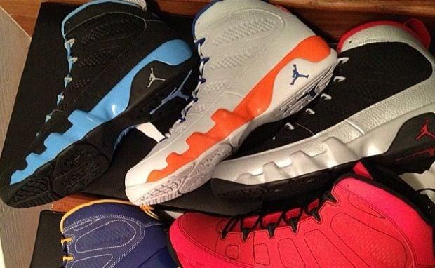 Air Jordan 9 ?Kilroy? Pack