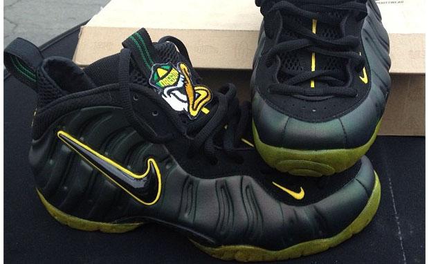"Nike Air Foamposite Pro ""Oregon"" Custom"