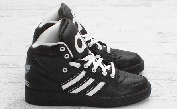 adidas JS Instinct Hi Black/White