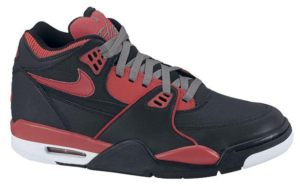 Nike Air Flight 89 Black Sport Red