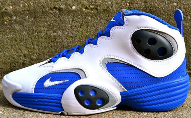 Nike Air Flight One White Royal Grey