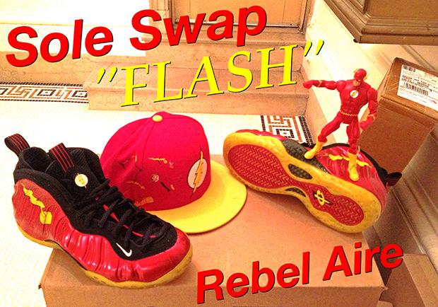 Nike Air Foamposite One Flash Custom