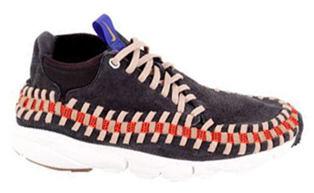 Nike Air Footscape Woven Chukka Grey Orange Purple