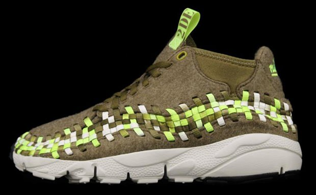 Nike Air Footscape Woven Chukka Raw Umber Volt