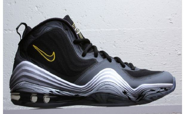 Nike Air Penny V Black/Cool Grey-Tour Yellow