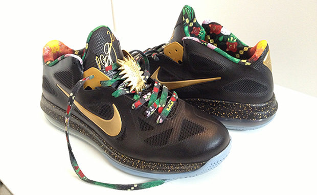 "Nike LeBron 9 Low ""Watch the Throne"" Custom | Nice Kicks"