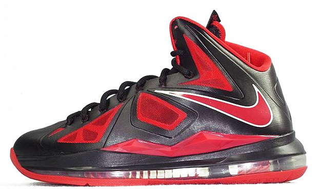 Nike LeBron X Black/Red | Nice Kicks