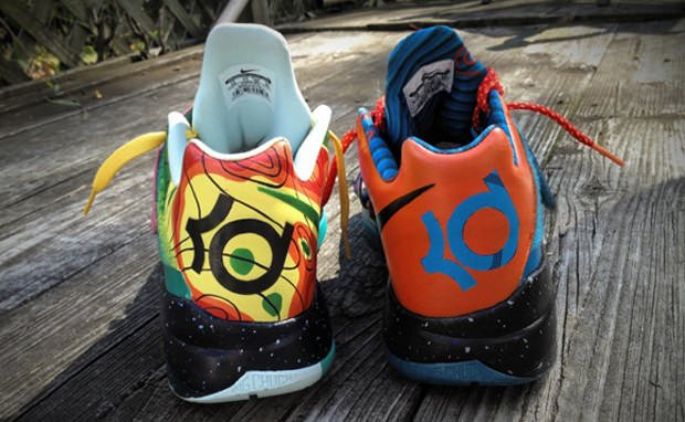 Nike Zoom KD IV What the KD Custom