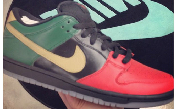 "Nike SB Dunk Low ""Black History Month"" 2013"