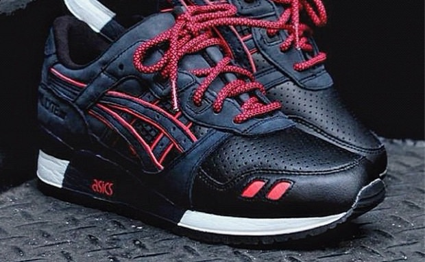 "Ronnie Fieg x ASICS Gel Lyte III ""Total Eclipse"""