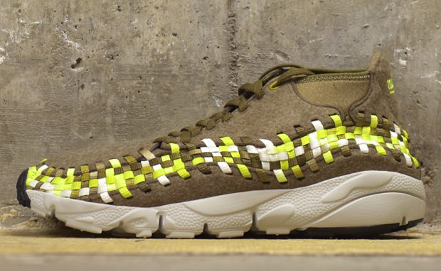 Nike Air Footscape Woven Chukka Raw Umber/Volt