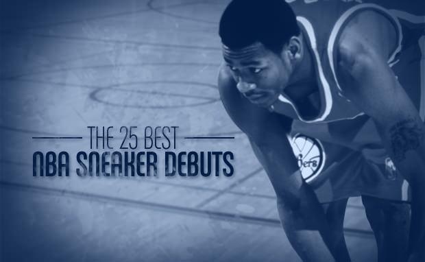 The 25 Best NBA Sneaker Debuts