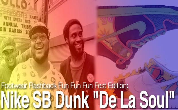 """Footwear Flashback: """"De La Soul"""" Nike SB Dunks"""