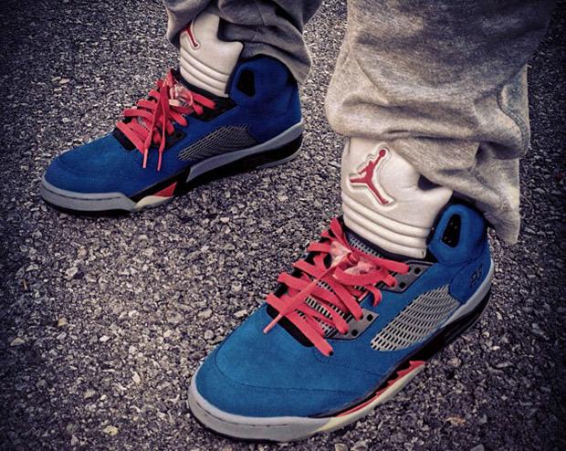 Air Jordan 5 Eminem Custom
