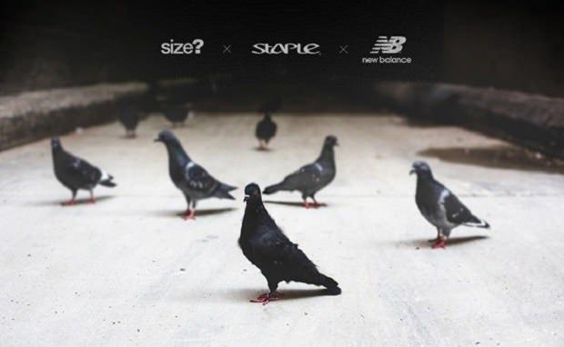 size? x Staple x New Balance Teaser