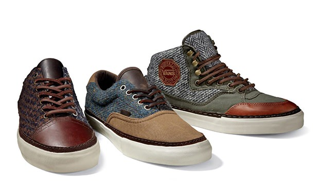 Harris Tweed x Vans Vault Capsule Collection
