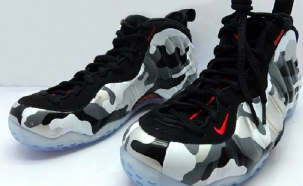 Nike Air Foamposite One ?Fighter Jet?