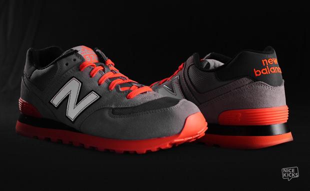 "New Balance 574 ""Infrared"""