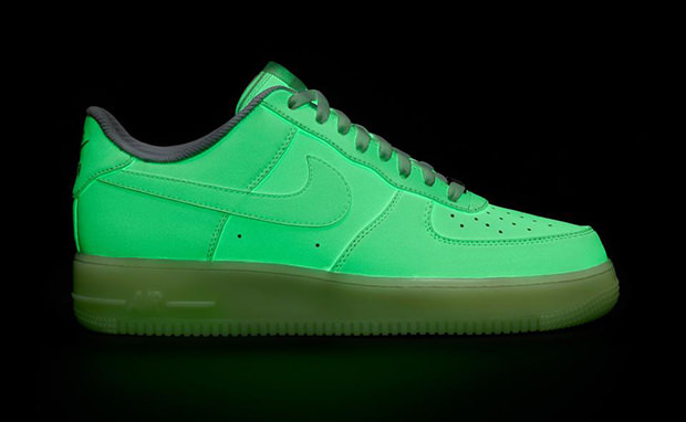 Nike Air Force 1 Glow In The Dark Id Samples Nice Kicks
