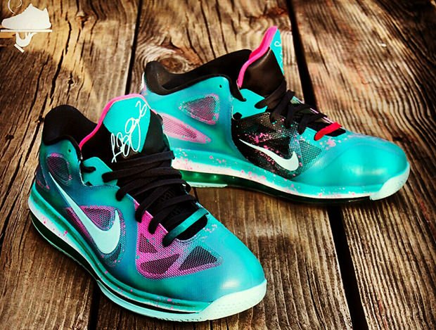 Nike LeBron 9 Low Beachster Bunny Custom