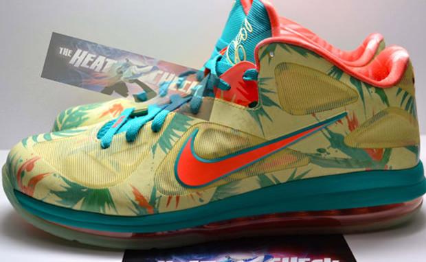 Nike LeBron 9 Low LeBronold Palmer PE