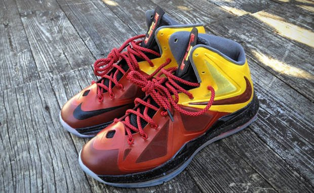 Nike LeBron X Haters Custom