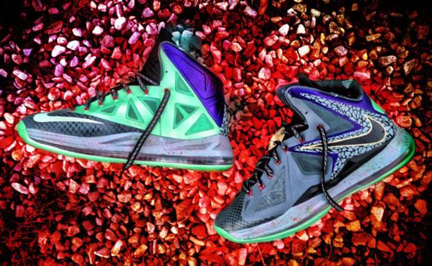 "Nike LeBron X ""Mita"" Custom"