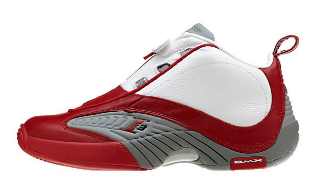 Reebok Answer IV White/Red Available