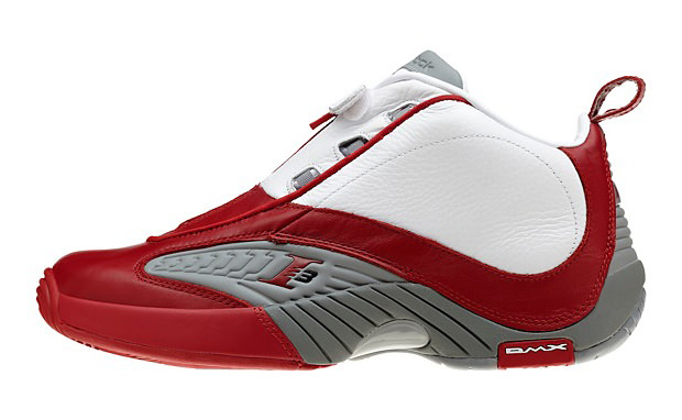 Reebok Answer IV White Red Available Now