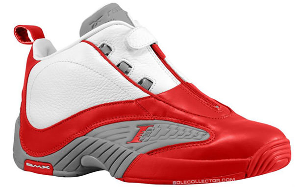 Reebok Answer IV White Red