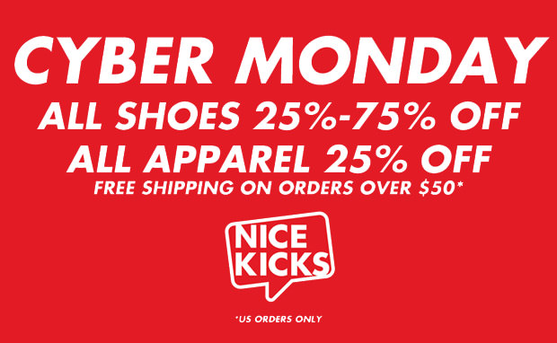 Shop Nice Kicks Cyber Monday Sale