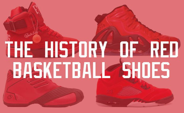 The 25 Best Red Basketball Shoes of All