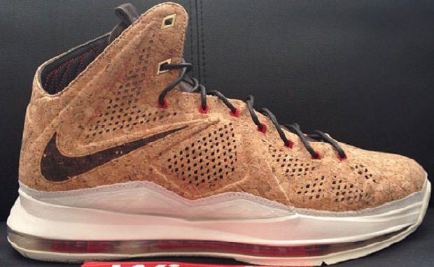 "Nike LeBron X ""Cork"""