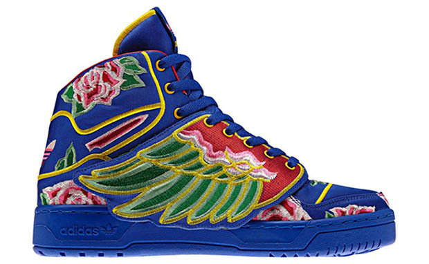 Eason Chan x Jeremy Scott x adidas Wings Release Date