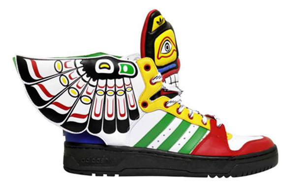 Jeremy Scott x adidas Wings 2.0 Totem