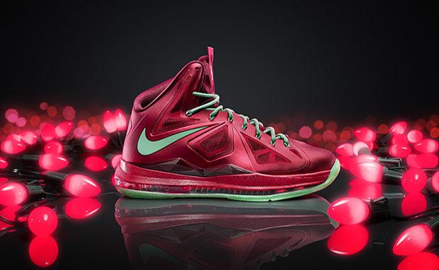 lebron xmas shoes