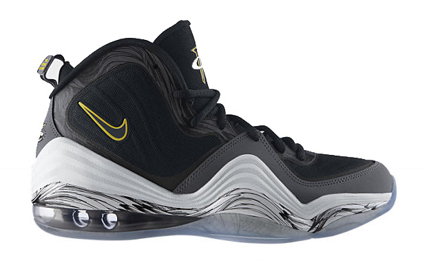 Nike Air Penny V Color Grey/True Yellow