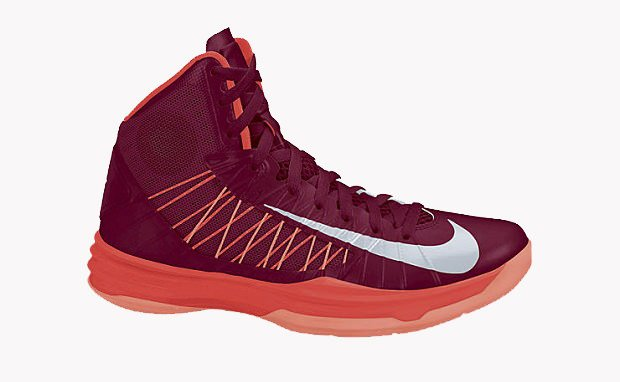 Nike Hyperdunk+ Team Red/Bright Crimson