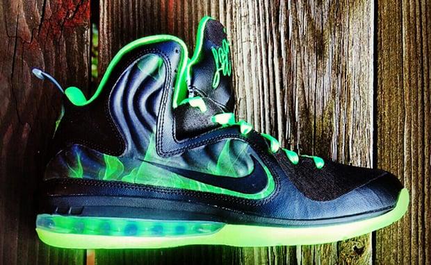 cheaper 09a06 770ea Nike LeBron 9 Foamposite quot ParaNorman quot Custom Nice KicksParanorman  Lebron 9