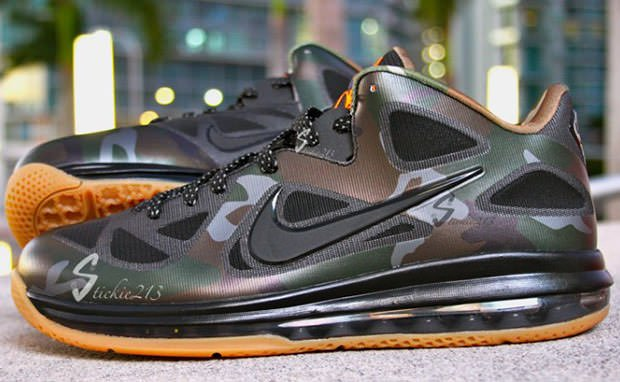 Nike LeBron 9 Low Camo Sample